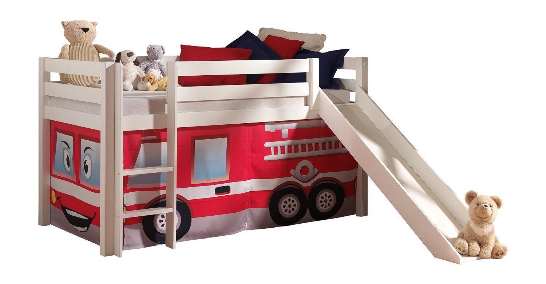 Feuerwehrbett Vipack mit Rutsche