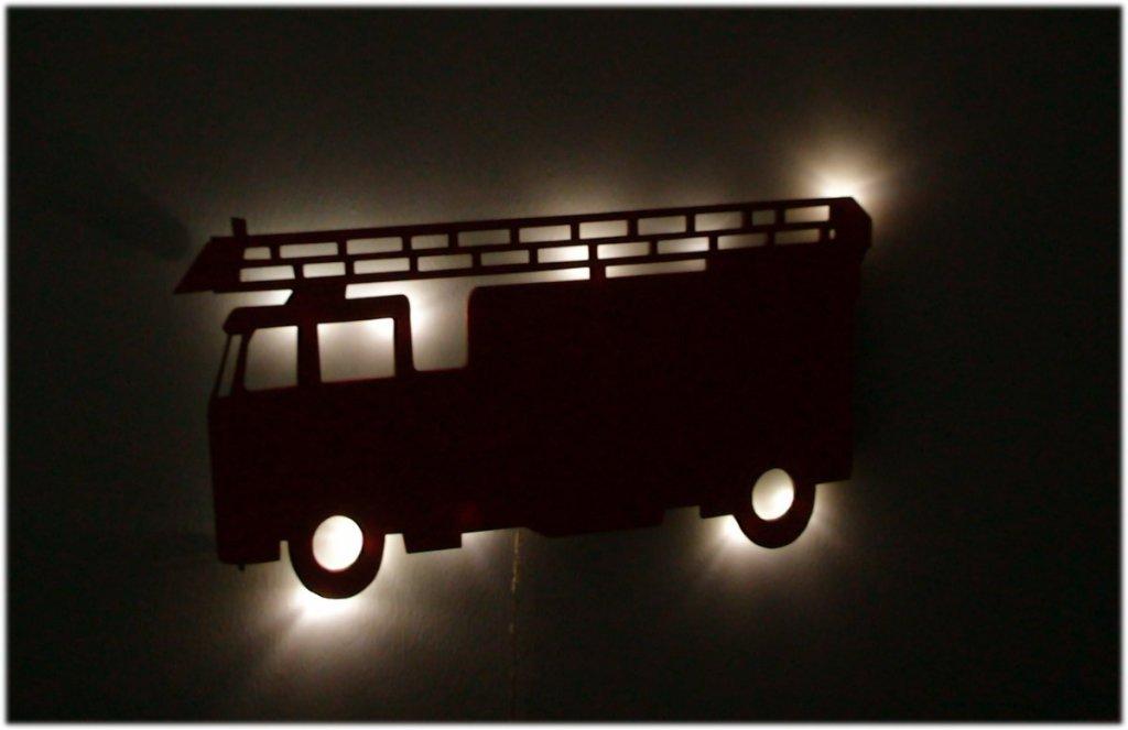 Feuerwehr-wandlampe